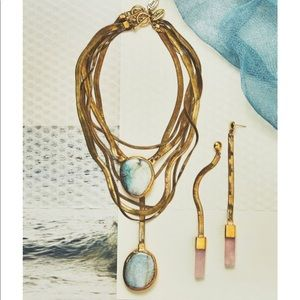 Anthropologie Turquoise Necklace